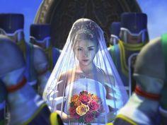 Yuna's wedding to Seymour (10)