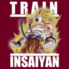 """Train insaiyan - Goku wounded Namek"" T-Shirts  Hoodies by Ali Gokalp | Redbubble"