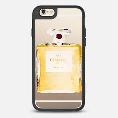 Chanel N5 Ink - New Standard iPhone 6 Case in Black and Clear by Rui Faria | @casetify