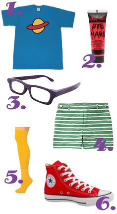 Chuckie Finster #Halloween #Costume idea from Chicks Who Give A Hoot