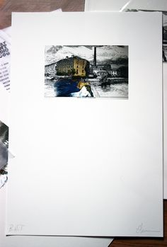 Elena Santos Full Print Distillery, Artist At Work, Digital Prints, Polaroid Film, Studio, Santos, Study
