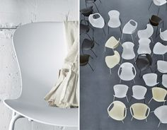 Nap Stackable side chair by Kasper Salto for Fritz Hansen