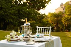 Personlised dining for 2, at the most romantic resort in the Caribbean, Rendezvous www.theromanticholiday.com