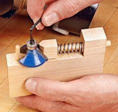 980-Router Bit Bearing Changing Jig