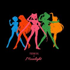 My Sailor Moon themed design is on #TeeTee! Please vote and share so it could become a tshirt!