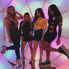 "3,198 curtidas, 13 comentários - @harmonizer_lovatic98 no Instagram: ""Fifth Harmony at MTV today!"""