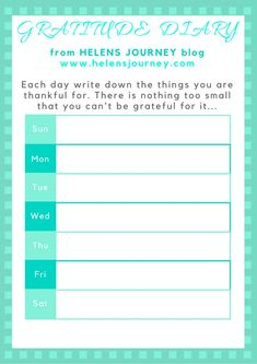 CLICK to download this FREE Printable of my 'WEEKLY GRATITUDE DIARY' I designed as a #gratitude gift for all my readers. Click to read top tips for embracing gratitude that can lead to more inner peace & happiness, through the joy it can bring! #Grateful #thanksgiving #happythanksgiving #thankful #freeprintable #gratitudelog #gratitudediary #countyourblessings #gratitudechallenge #bethankful #selfhelp #familyactivities #activitiesforkids #mentalhealthawarenessweek #kindnessactivitiesforkids Grateful, Thankful, Inner Peace, Self Esteem, Helping Others, Self Help, Gratitude, Life Lessons, Free Printables