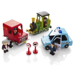 Postman Pat Deluxe Friction Action 3 Vehicle u0026 Figures Playset by Born to Play   sc 1 st  Pinterest & Postman Pat Van. | Ross | Pinterest | Postman pat