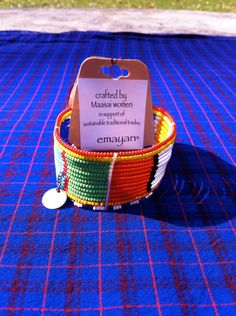 emayan on Etsy. Maasai Women's Bracelet