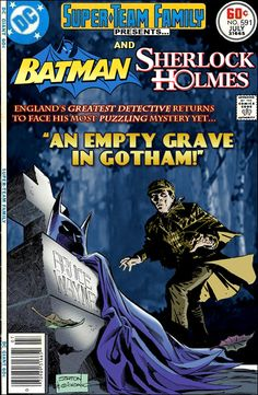 Super-Team Family: The Lost Issues!: Batman and Sherlock Holmes