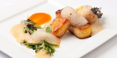 Graham Campbell shares a fabulous vegetarian main, featuring roasted polenta, red pepper and soy sauce