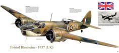 Blenheim MkIV military war art painting airplane aircraft weapon fighter d Air Force Aircraft, Ww2 Aircraft, Military Aircraft, Bristol Blenheim, Bristol Beaufighter, Airplane Painting, Ww2 Planes, Battle Of Britain, Aircraft Design