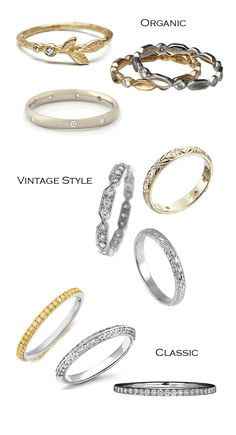9 Stackable Rings
