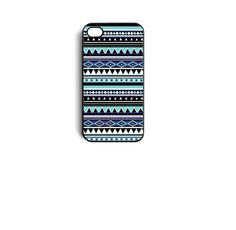 Aztec Tribal Pattern Snap On Case Cover for Apple iPhone 4 iPhone Cell Phones & Accessories