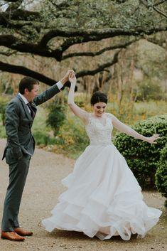 19a86cb985 Real Bride  Caroline in Mori Lee - LuLu s Bridal