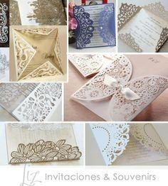 tarjetas invitaciones 15 años, bodas, cumpleaños... tomado de la web