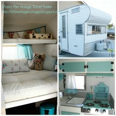 Little Vintage Cottage: Another Update on Maizy - The Little Vintage Travel Trailer