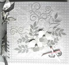 claudialand: Matrimonio in bianco e argento con un tocco di ros...