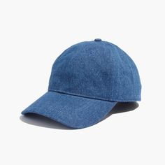 Pin for Later: This Is What Your Summer Outfits Are Missing  Madewell Denim Baseball Cap ($25)
