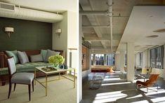   Diseño de interiores con tuberías vistas