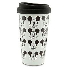 Ceramic Mickey Mouse Travel Tumbler