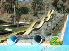 Water park in Puerto Rico, in Gran Canaria... This place was fun!