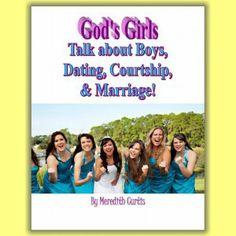 Bible Study Workbook for Teen Girls on Guys, Courtship, & Marriage. :)