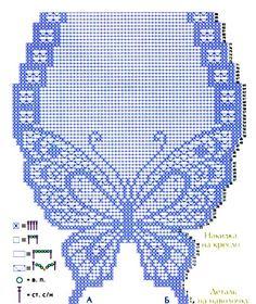 Delicadezas en crochet Gabriela: Siete modelos de caminos y tapetes de mesa con mariposas
