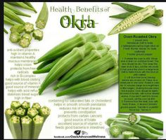 Okra has amazing antioxidant properties and it also a good source of calcium and potassium. Okra is one among the traditional vegetable. Here are the amazing health benefits of okra. Okra Health Benefits, Fruit Benefits, Oven Roasted Okra, Growing Okra, Raw Food Recipes, Healthy Recipes, Okra Recipes, Easy Recipes, Food Tips