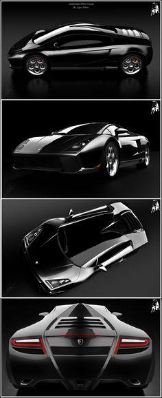 Lamborghini SPIGA concept by ~ugursahin1234 on deviantART