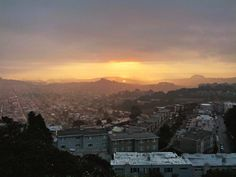 Watch the sunrise from Bernal Hill