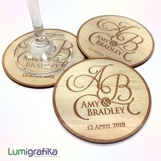 Bulk Order of Custom-engraved Timber Coasters Bulk Order, Linseed Oil, Stitch Markers, Business Logo, Special Occasion, Initials, Birthday Parties, Coasters, Custom Design