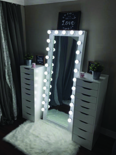 Full length beauty room mirror – You are in the right place about skincare art Here we offer you the most beautiful pictures about the skincare branding you are looking for. When you examine the Full length beauty room mirror – Bedroom Decor For Teen Girls, Girl Bedroom Designs, Room Ideas Bedroom, Bedroom Bed, Cute Teen Rooms, Teen Room Designs, Bedroom Ideas For Teens, Diy Teen Room Decor, Unique Teen Bedrooms