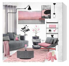 """""""The Elephant in the Room"""" by merlothues ❤ liked on Polyvore featuring interior, interiors, interior design, home, home decor, interior decorating, Parvez Taj, PBteen, Blu Dot and Lazy Susan"""