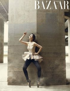 Han Ga In - Harper's Bazaar Magazine November Issue '13