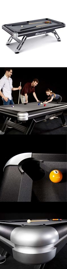 Tables 21213: Bristol 7 Ft Game Table 2 In 1 Pool And Table Tennis In Black  And Cherry  U003e BUY IT NOW ONLY: $708.59 On EBay!