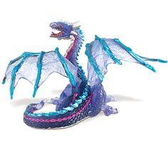 This is an awesome and highly detailed Cloud Dragon Fantasy figure, from Safari's excellent Fantasy line of figures. Well known for scientifically accurate figures of animals, Safari also does a stell Little Dragon, Blue Dragon, Japanese Dragon, Chinese Dragon, Fantasy Figures, Action Figures, East Asian Countries, Legendary Creature, Dragon Pictures