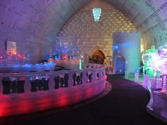 Ice Bar and Museum at the Chenea Hot Springs, Fairbanks AK   copyrighted 2014 Dark Woods Studios, Ltd. Co. dwoodstudio.com