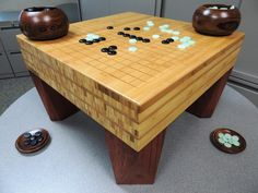 """""""Go"""" Board Game featured in the July 2013 Japan Woodworker Catalog"""