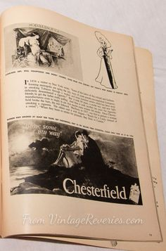 #history #oldads #cigarettes #chesterfields #tobacco