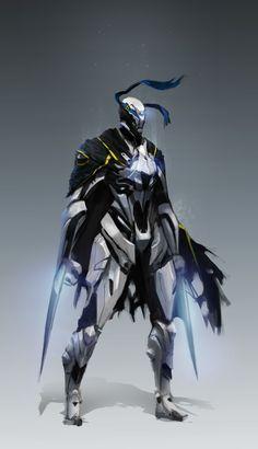 ArtStation - Sci Fi Knight, Jeff Chen