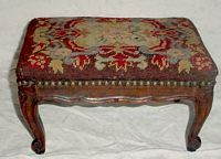 antique french foot stool...