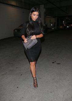 52313167f514 Kim Kardashian s Second Child Has Arrived! Givenchy Pandora MiniPandora BagKardashian  ...