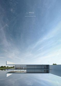 L HOUSE - Andres Jover #architecture #minimal #minimalism #interior #facade #andresjover #project #render #facadeidea #idea #panel #house