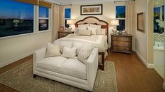 Master Bedroom at Aveiro at Madeira East by Taylor Morrison