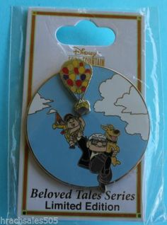Disney Soda Fountain DSF Beloved Tales Up Russell Dug and Carl Le 300 Pin | eBay