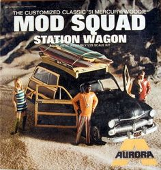 1951 Mercury Woodie 'Mod Squad' Station Wagon (1/25)