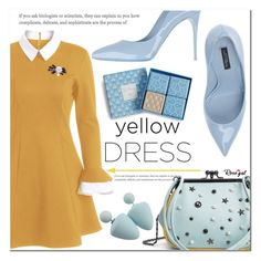 """""""Yellow Dress"""" by asteroid467 ❤ liked on Polyvore featuring Dolce&Gabbana, Vera Bradley, vintage, polyvorecommunity, yellowdress, polyvoreOOTD and PolyvoreMostStylish"""