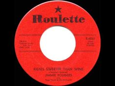 1957 HITS ARCHIVE: *Kisses Sweeter Than Wine* - Jimmie Rodgers - YouTube