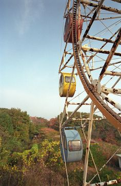 abandoned amusement park - Abandoned & distressed places